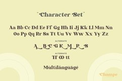 Champe - Retro Font Product Image 2