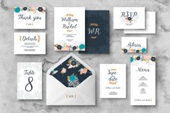 Floral Wedding Invitation Suite Product Image 1