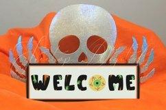 Halloween Mockup Bundle, Frame, Porch Sign, Flag, Mug, Shirt Product Image 5