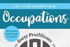 Nurse practitioner monogram svg - an NP svg for crafters Product Image 5