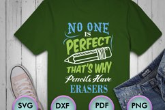 No One Is Perfect ... SVG for Crafters, SVG for Cricut Product Image 1
