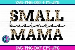 Quote & Saying Svg, Small Business Mama SVG Product Image 1