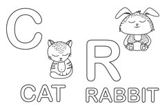 Worksheet animals and coloring book Product Image 8