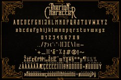 Therion Typeface + Ornament Bonus Product Image 5
