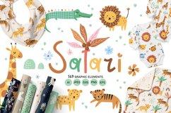 Safari - Baby illustration Product Image 1