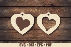 Love Keychains SVG Bundle Glowforge, Key Fob SVG design Product Image 5