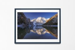 Lake Braies - Wall Art - Digital Print Product Image 2