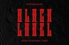 Web Font BlackLabel Font Product Image 1