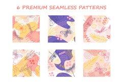 Organic natural seamless pattern set Product Image 7