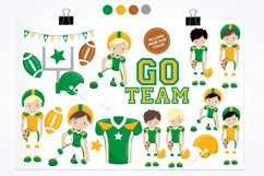 American Football graphics and illustrations Product Image 2