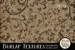 Burlap Background Textures - Rustic Burlap Backgrounds Product Image 3
