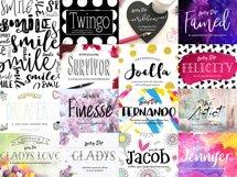Joanne Marie 60 Font Bundle Product Image 4