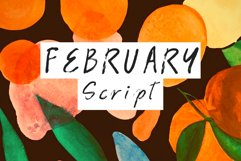 february script Product Image 1