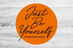 Just Be Yourself Product Image 1