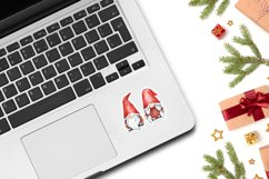 Laptop Sticker Mockup | 1 PSD with 5 JPG images Product Image 5