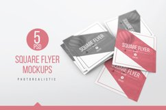 Square Flyer Mockups Product Image 1