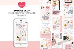 Boss Lady Pinterest Templates Product Image 1