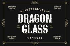 Web Font Dragon Glass Product Image 1
