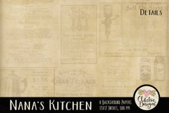 Nana's Kitchen Background Textures Product Image 6