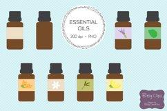 Essential Oil Clipart Digital Art Set Direct Sales Clipart Product Image 2
