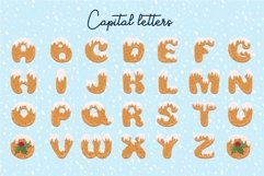 Xmas cartoon cookie font family Product Image 2