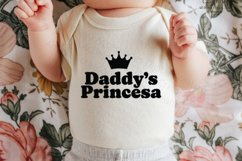 Daddy's Princesa Svg, Cute Quote Product Image 4