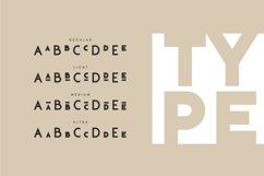 Klark. Sans serif font family. Product Image 5