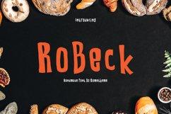 RoBeck - Fun Display Font Product Image 1