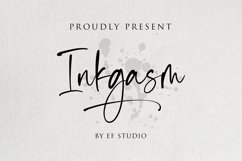 Inkgasm | Casual Script Font Product Image 1