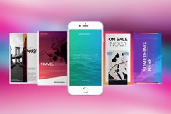 Gradient Social Media Pack Product Image 1