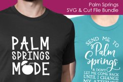 Palm Springs SVG and Cut Files for Crafters Product Image 2