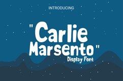 carlie marsento Display font Product Image 1