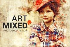 Mixed Art 2 Photoshop Action Product Image 1