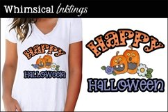 Halloween Word Art Clipart-Sublimation Set Product Image 2