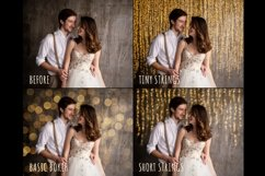 Gold bokeh overlays Product Image 4