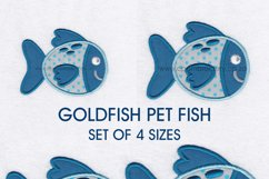 Pet Fish Applique Embroidery Size Pack Product Image 4