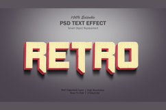 3D Retro Text Effect Product Image 1