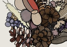 Autumn / Fall Illustration. PNG - sublimation / clipart Product Image 3