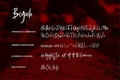 Web Font Begooh - Brush Font Product Image 5