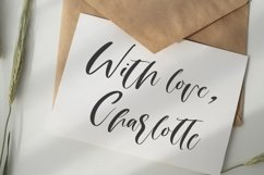 Web Font Moon heart script font Product Image 3