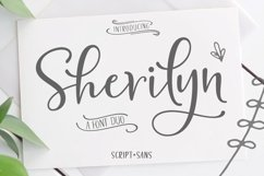 Sherilyn Script FONT DUO Product Image 1