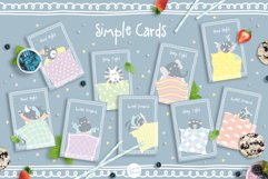 Cute Animals Pajama Party - Illustrations & Invitations Product Image 5