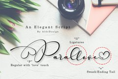 Parallove // Love Script Font Product Image 2