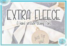 Extra Fleece Handwritten Skinny Font Product Image 3
