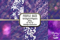 Purple Haze - 10 Digital Papers/Backgrounds Product Image 1