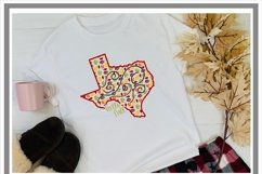 Texas Autumn Fall Leaves Pattern SVG Product Image 2