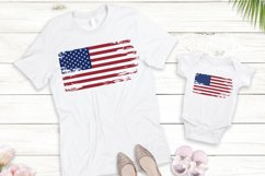 American flag distressed. 4th of July SVG. Independence Day. Product Image 2