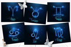 Zodiac signs tumbler sublimation bundle. Full wrap template. Product Image 3
