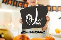 Spooky Monograms - A Halloween Monogram Font Product Image 2
