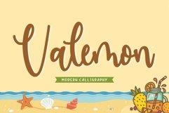 Valemon Modern Calligraphy Font Product Image 1